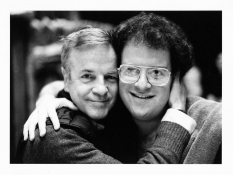 Franco Zeffirelli and James Levine, 1981