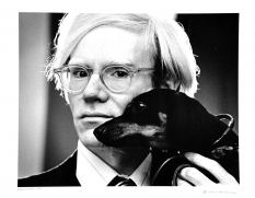 Andy Warhol and Archie, 1973