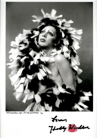 Holly Woodlawn - 1970 Autographed Limited Edition