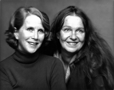 Julie Harris and Geraldine Page - 1980
